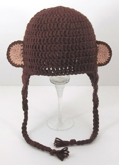 Monkey Ears Earflap Hat