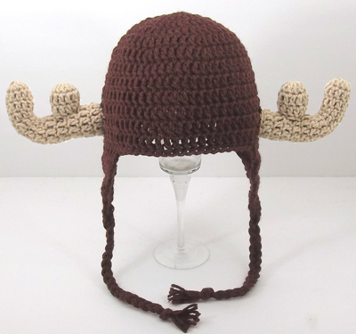 Moose Earflap Hat