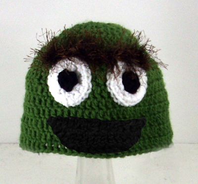 Oscar the Grouch Hat from Sesame Street