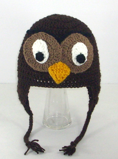 Owl Earflap Hat from Winnie the Pooh