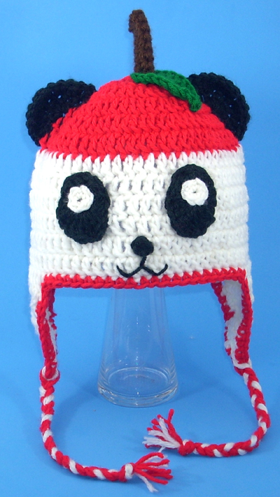 Pandapple Earflap Hat from Hello Kitty