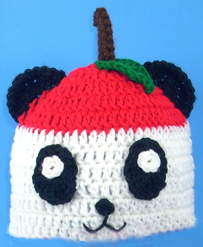Pandapple Hat from Hello Kitty