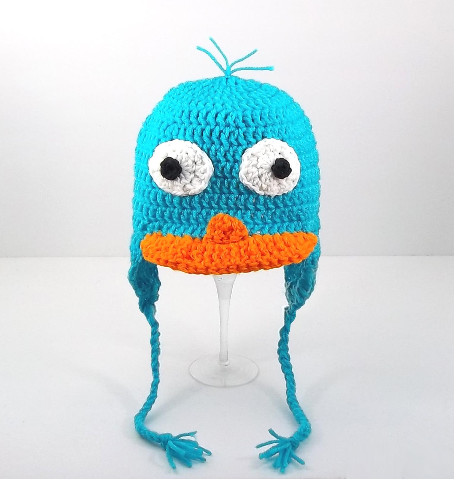 Perry the Platypus Earflap Hat from Phineas and Ferb