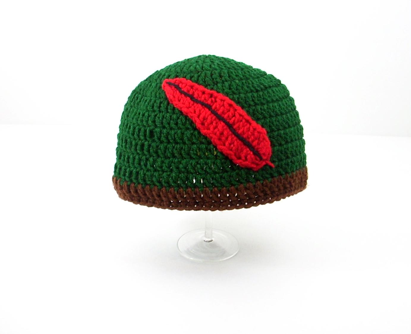 Peter Pan / Robin Hood Hat - $20.00 : CUTIEHATS, custom hats
