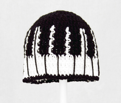 Piano Keys Hat