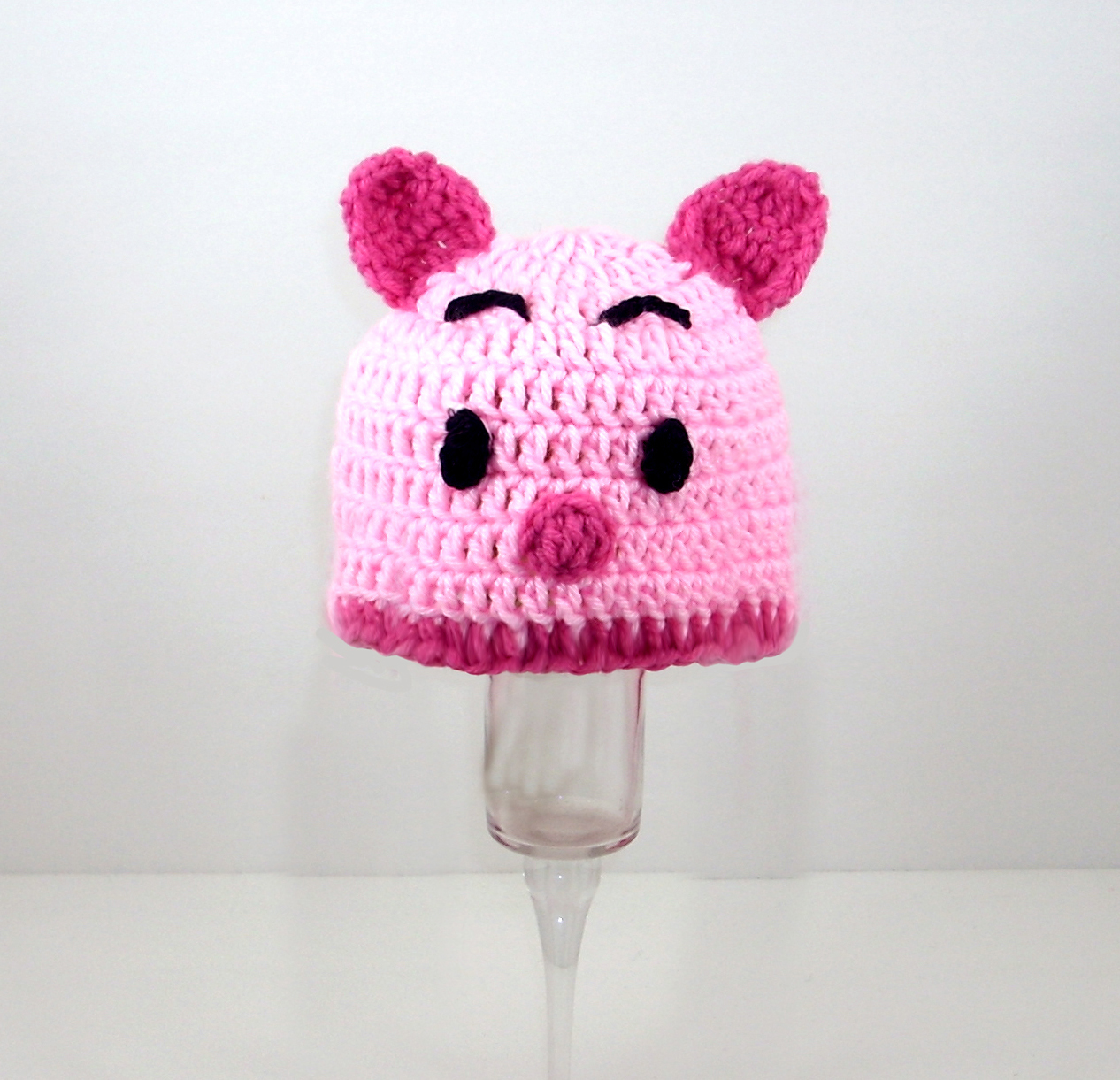 Piglet Hat from Winnie the Pooh