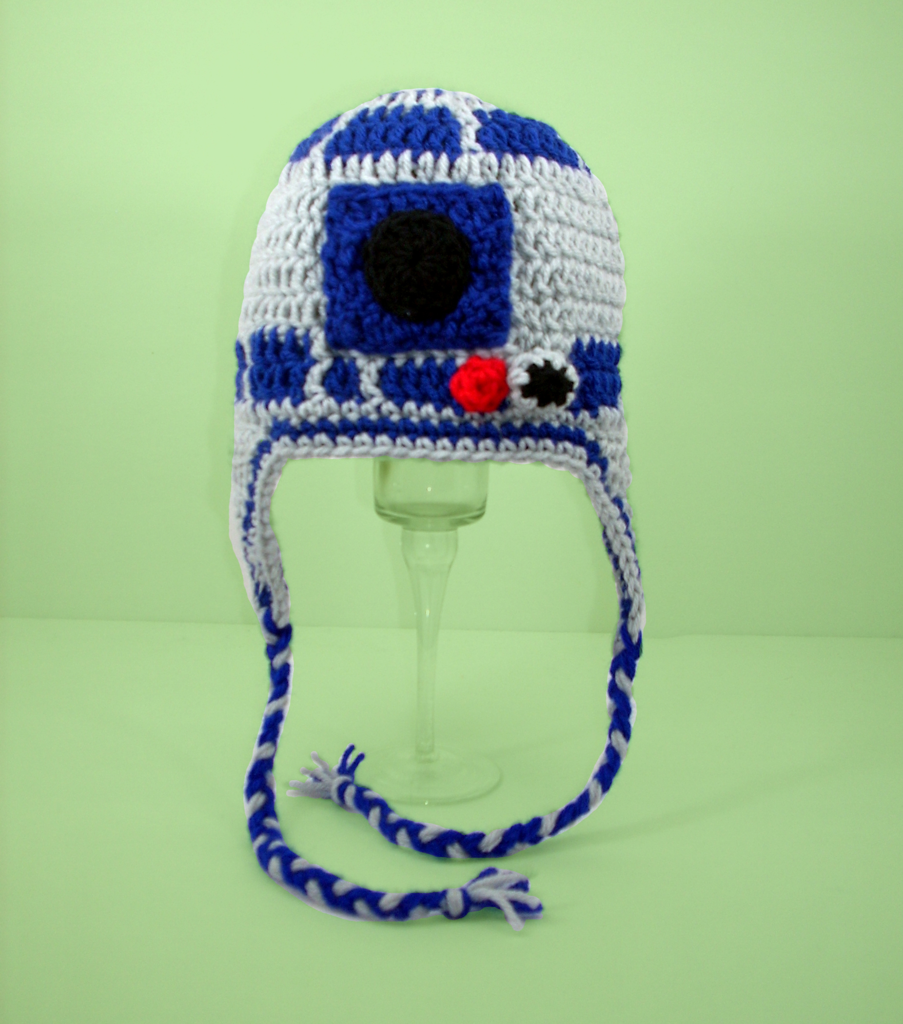 R2D2 Earflap Hat from Star Wars - Click Image to Close