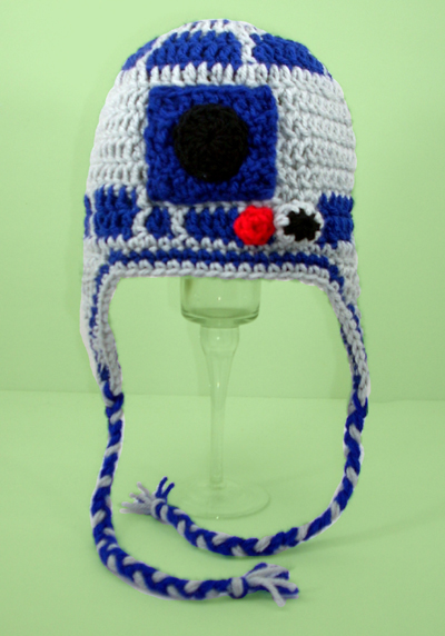 R2D2 Earflap Hat from Star Wars