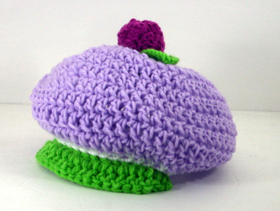 Raspberry Tart Hat from Strawberry Shortcake