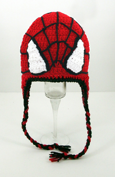 Spiderman Earflap Hat