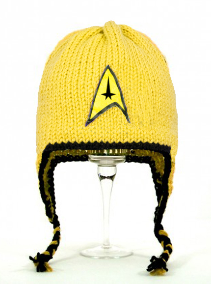 Star Trek Yellow Earflap Hat
