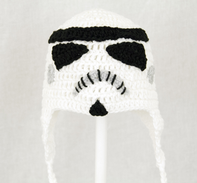 Storm Trooper Earflap Hat from Star Wars