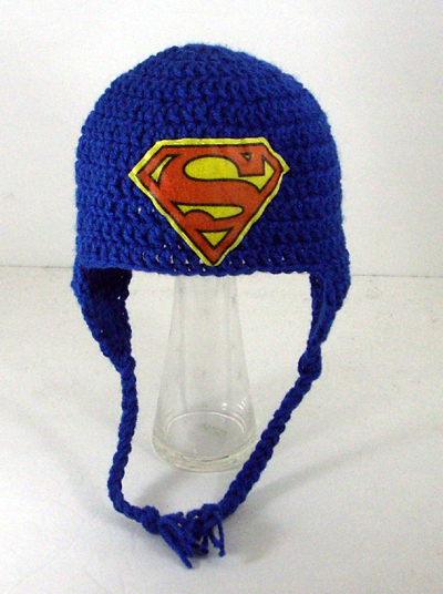 Superman Earflap Hat