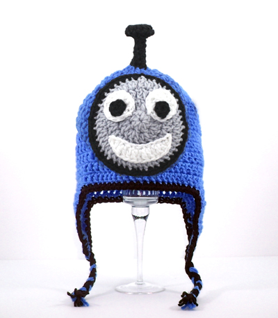 Thomas the Train Earflap Hat