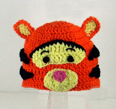Tigger Hat from Winnie the Pooh