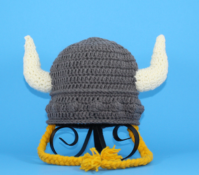 Viking Hat with Braids