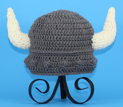 Gray Viking Hat