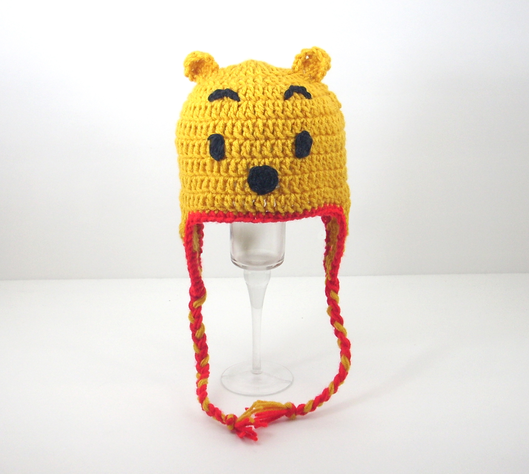 Pooh Bear Earflap Hat from Winnie the Pooh